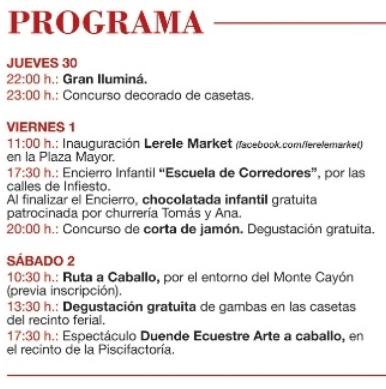 Asturias con niños: Feria de Abril en Infiesto!