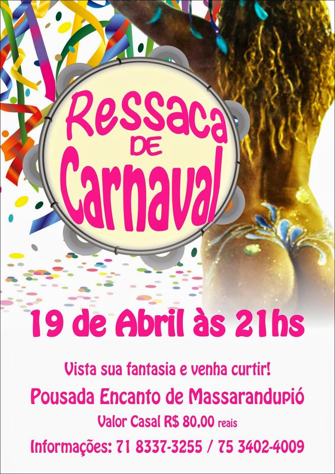 FESTA RESSACA DE CARNAVAL 2014