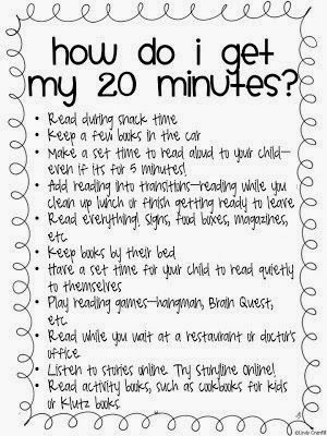 http://www.teacherspayteachers.com/Product/Easy-Ways-to-Find-Time-to-Read-790022