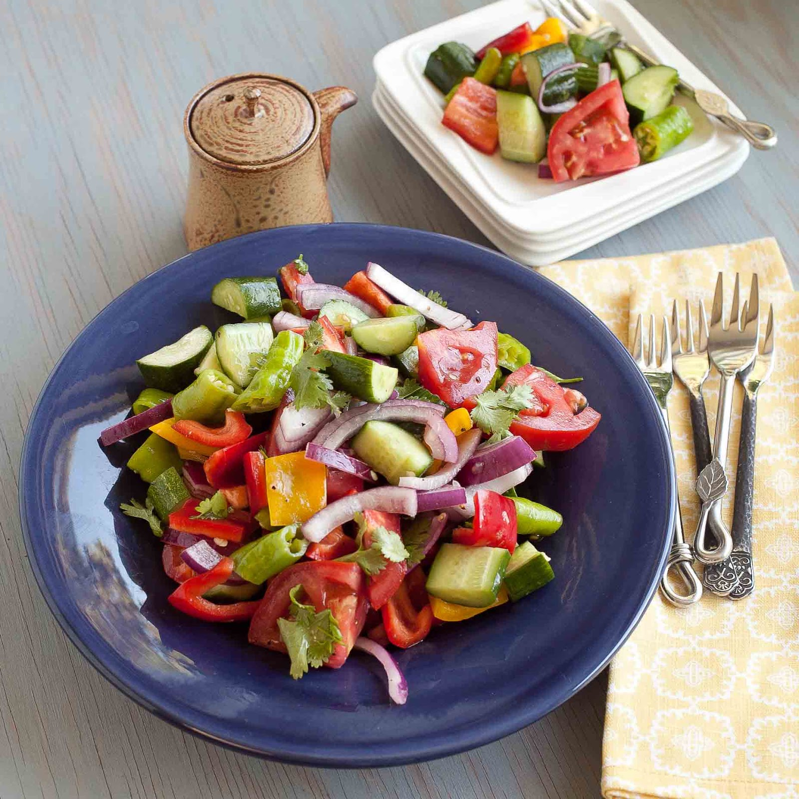 FOODjimoto: Easy & Delicious Farmer's Market Salad
