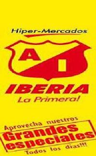 Ahorre dinero comprando en Almacenes Iberia