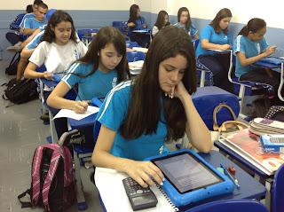 A IESI apresenta a avaliação com iPad