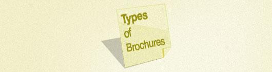 Types of Brochures