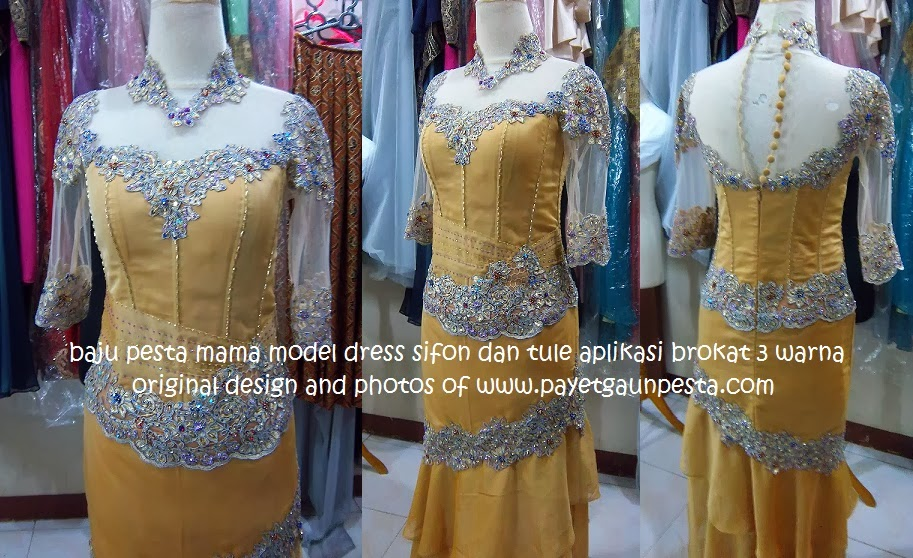 Long dress sifon terbaru chairul