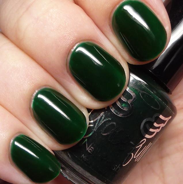 Grace-full Nail Polish Christmas Green