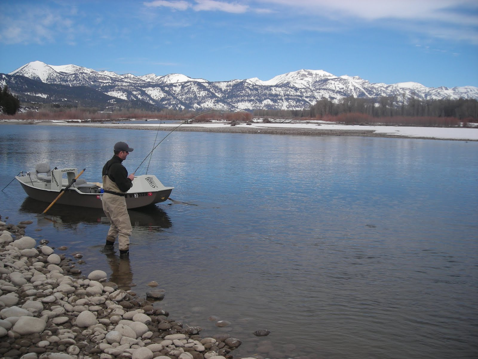 Boots snake river angler fly fishing report for april 1st for South fork snake river fishing report
