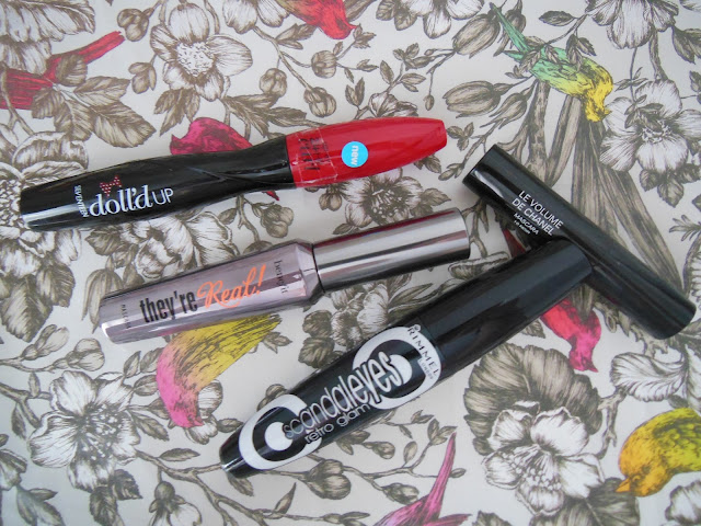 Selection of mascaras