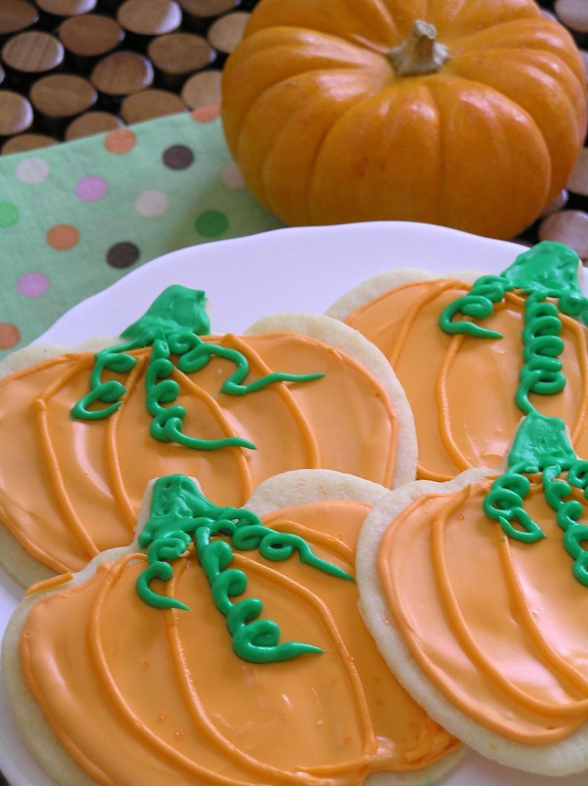 The Great Pumpkin Sugar Cookies