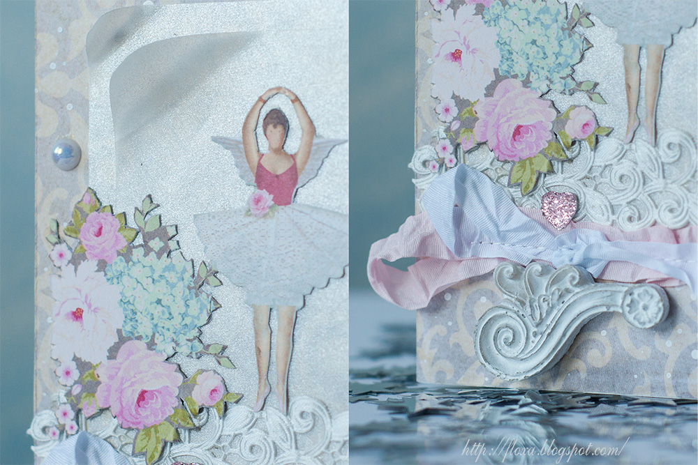открытка театр цветы, скрап балет, открытка балерина с крыльями, открытка тильда, тильда балерина