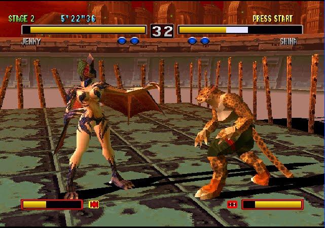 Bloody Roar 2 PC Gameplay-2