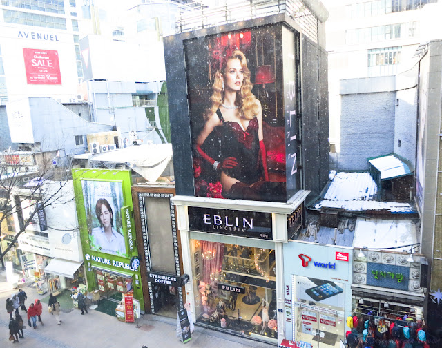 Stores in Myeongdong