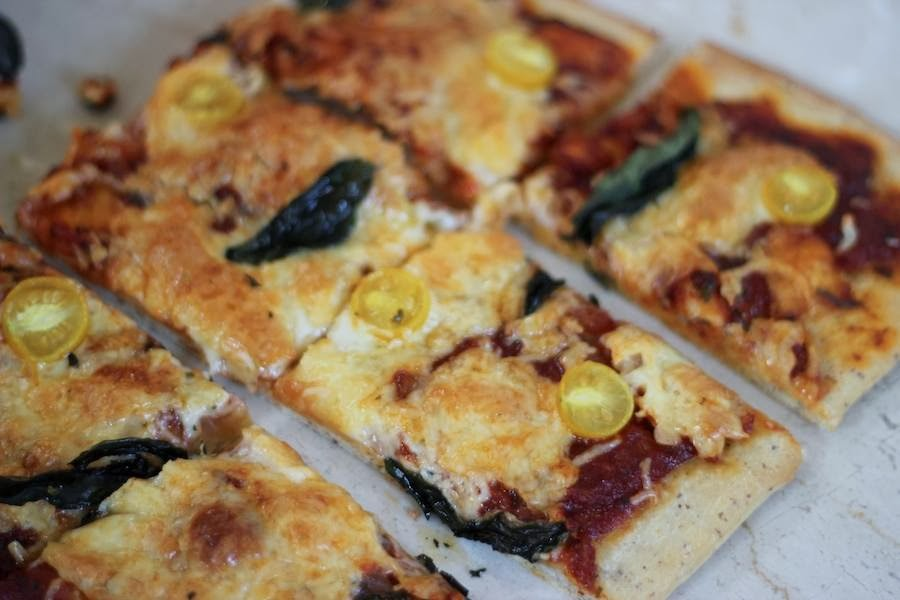 It is very easy to make a pizza at home once you get the ...