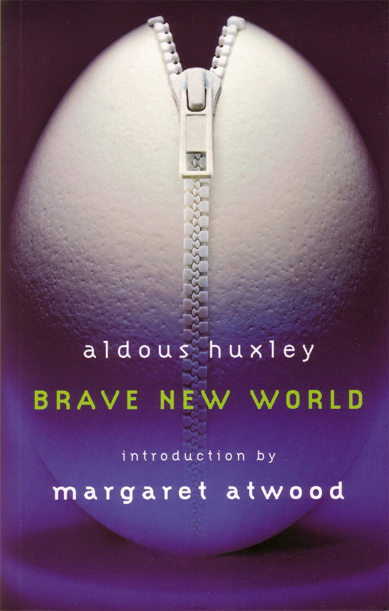 thesis on brave new world by aldous huxley The world in aldous huxley's brave new world has one goal: technological progress the morals and aspirations of the society are not those of our society today.