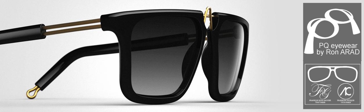 Comme Vanessa, craquez pour le no-discipline, l anti-conformisme des  lunettes de soleil et de vue dessinées par le designer israélien Ron ARAD. 9f840e4b7d4c