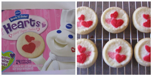 once cooled i took a scoop of strawberry ice cream placed it on the bottom of one cookie and gently pressed another cookie on top to make a sandwich