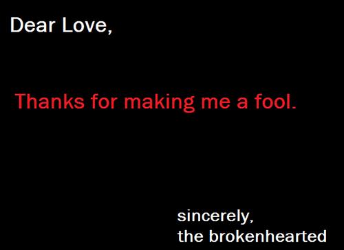 love quotes fool quotesgram