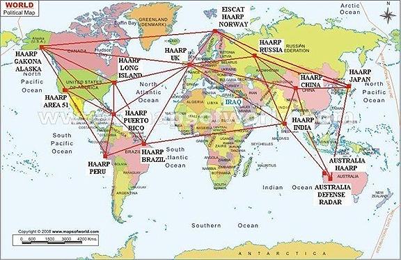 Known HAARP Locations Worldwide  HAARP+LOCATION+MAP