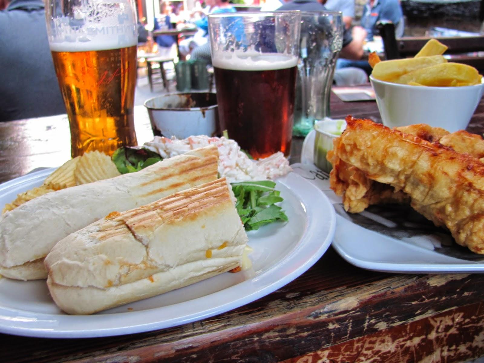 Lunch at Brazen Head Dublin, Ireland