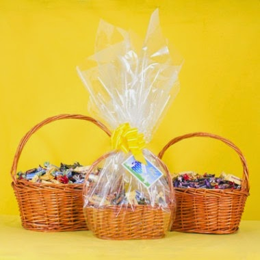 pre made easter baskets