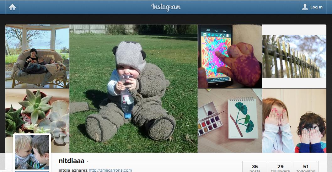 instagram 3 macarrons