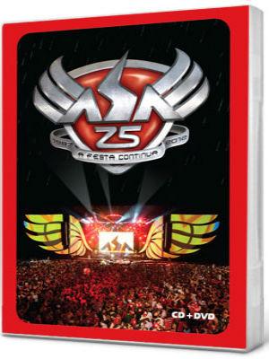 Asa de Águia Asa 25 Anos DVD-R Nacional