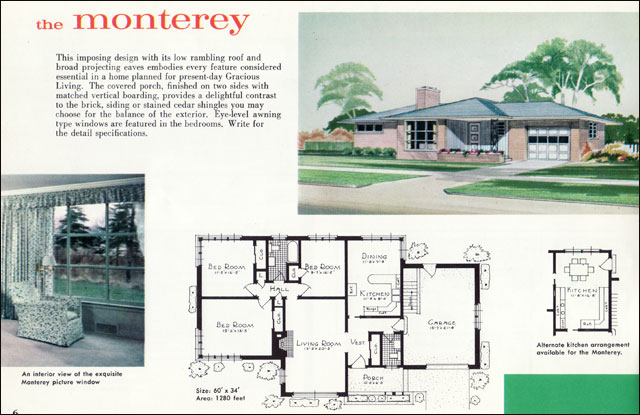 The Vintage War Bride: Mid Century Modest vs The McMansion PART 1