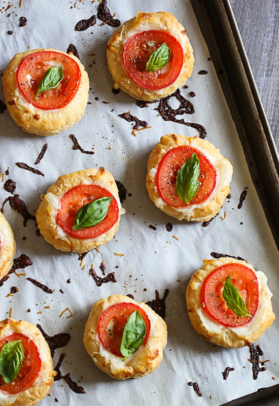 Tomato%2Band%2BMozzarella%2BTarts 7 Tomato and Mozzarella Tarts