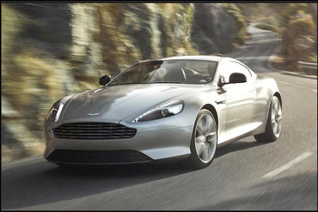 Aston Martin DB9 5.9 liter