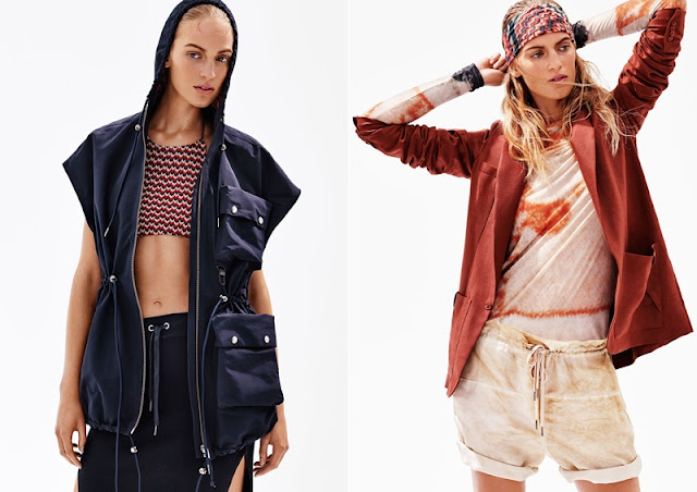 H&M Studio SS16, the Style, Glamour & Bliss of Adventure, H&M Malaysia, H&M, hm, city streetwear, hooded outerwear; frontier and utility jackets