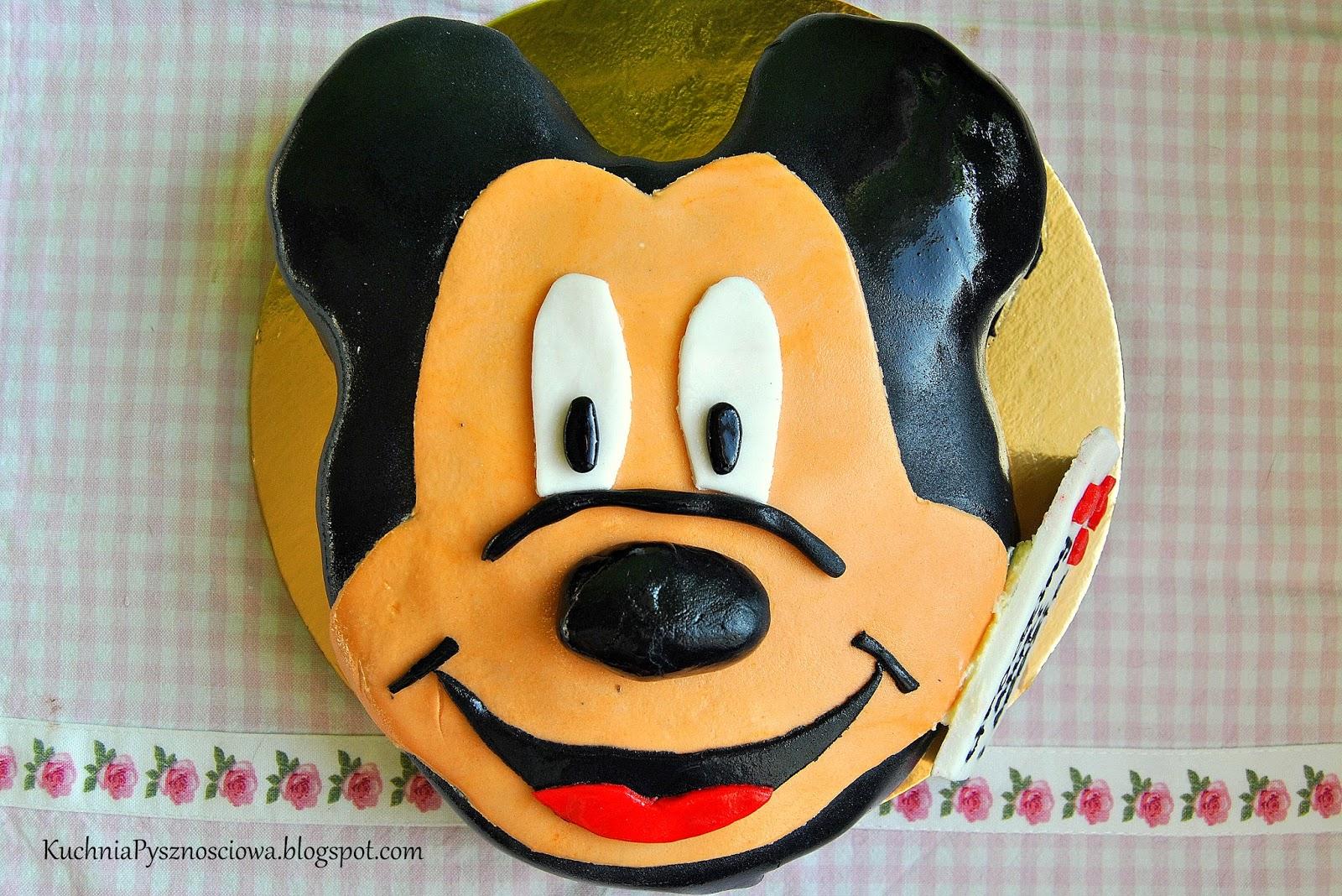Tort z Myszką Miki na urodziny urwisów