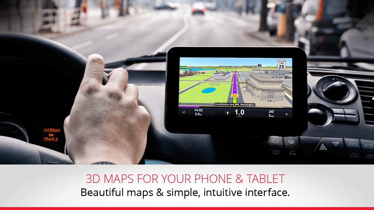 sygic apk offers maps updates for every 3 months with this app it is possible to have free offline navigation system gps offline tom tom maps poi s