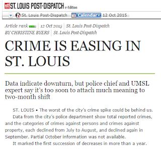 St. Louis crime improving,
