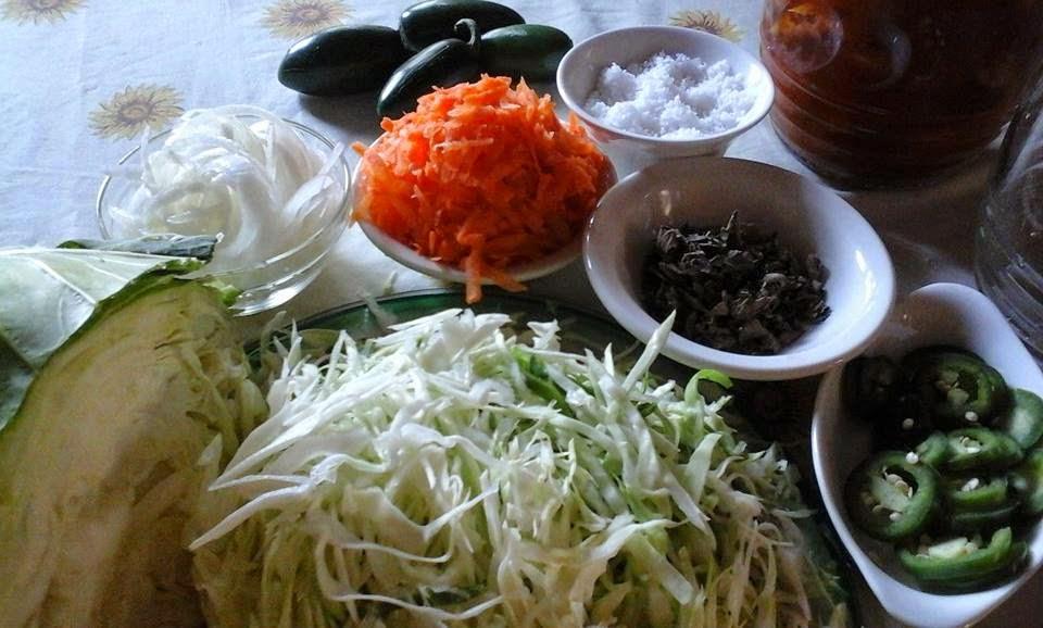 Mi cocina salvadore a curtido de repollo para pupusas - Encurtido de zanahoria ...