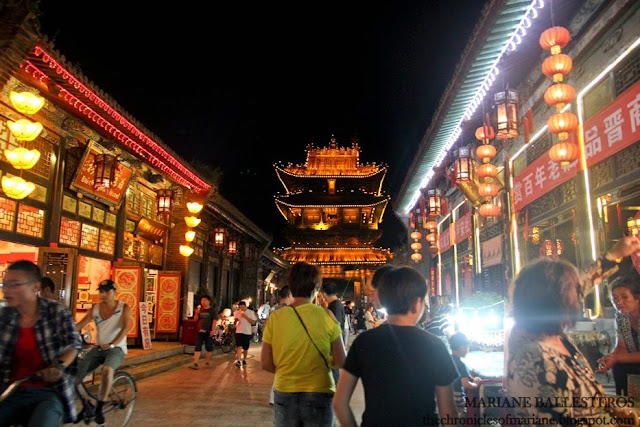 Ming Qing Street night