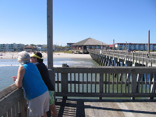 The Tybee Island pier and pavilion