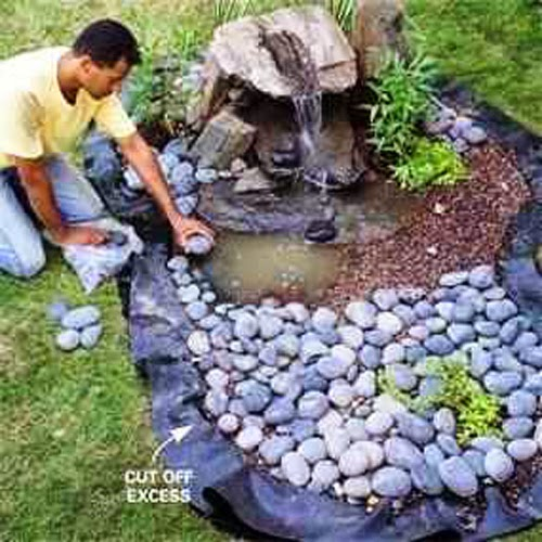 Looking For Ways To Make Your Garden Even More Beautiful? Try Building A  Disappearing Garden Fountain! This Is A Great Way To Add Sound And Movement  Of ...