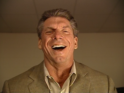 Image result for vince mcmahon chuckle