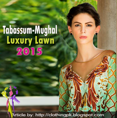 Tabassum Mughal Luxury Lawn Collection 2015 by Al-Zohaib