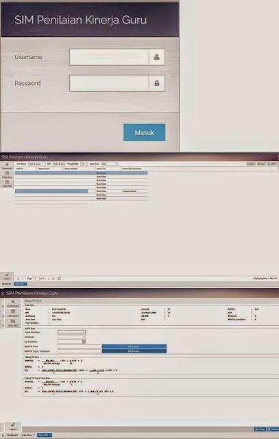 SIM Penilaian Kinerja Guru (PKG) Online 2015