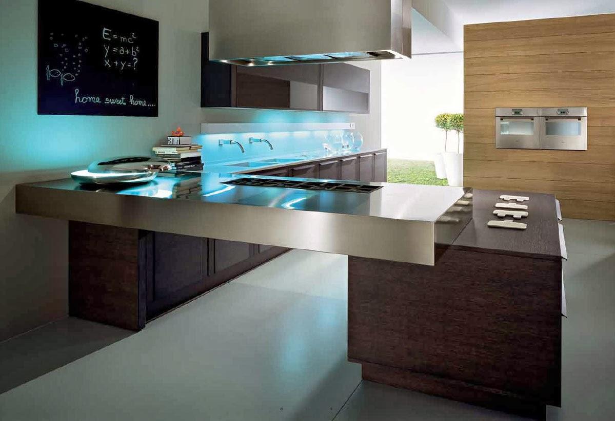 Gambar Design Interior Dapur Rumah Modern