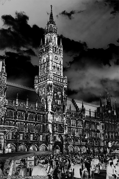 Munich, München, tyskland, germany, deutschland, rathaus, neues rathaus, rådhus, nya rådhuset, city hall