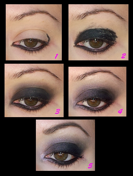 come fare smokey eyes