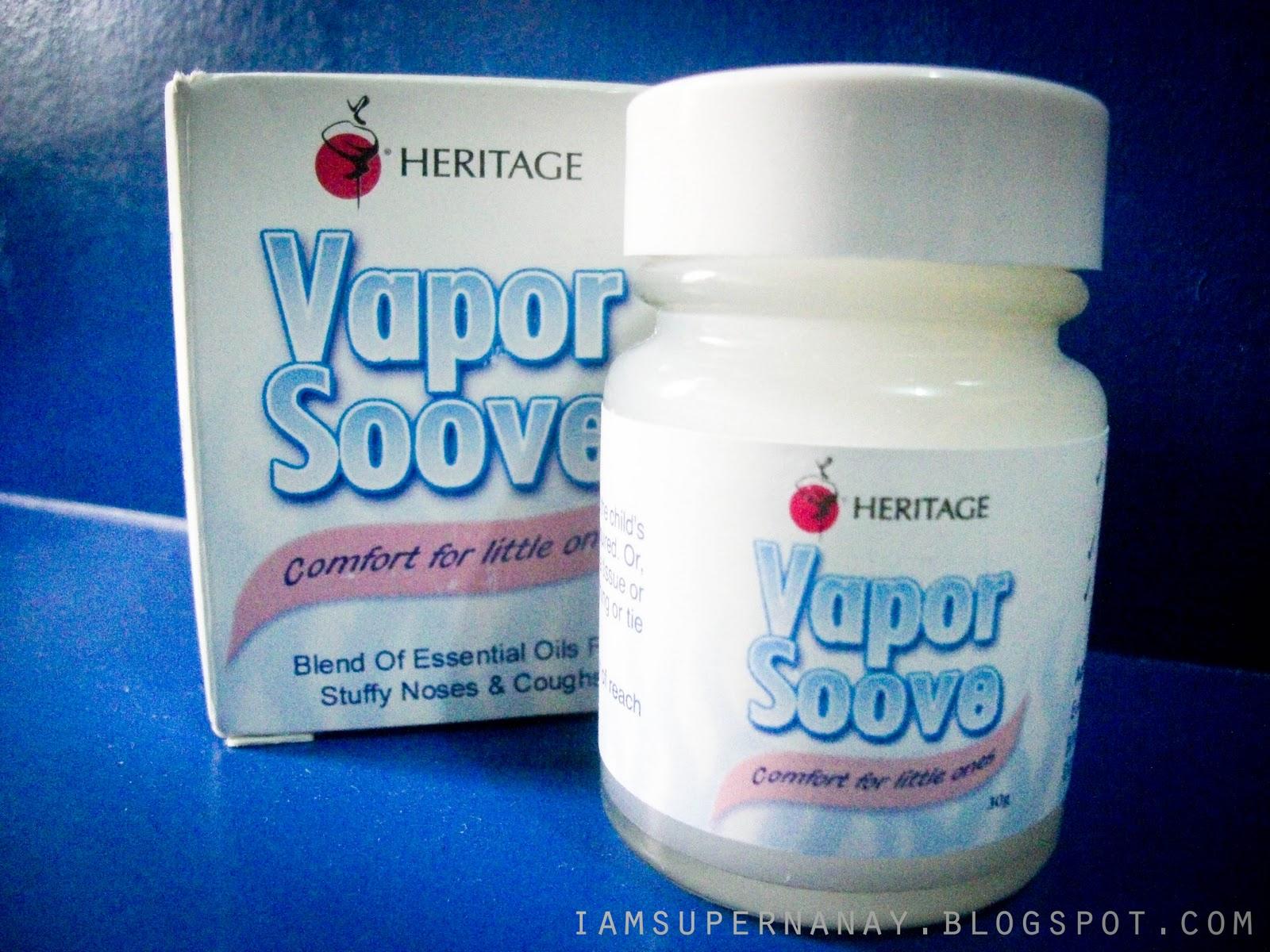 I Am Super Nanay Product Review Vapor Soove