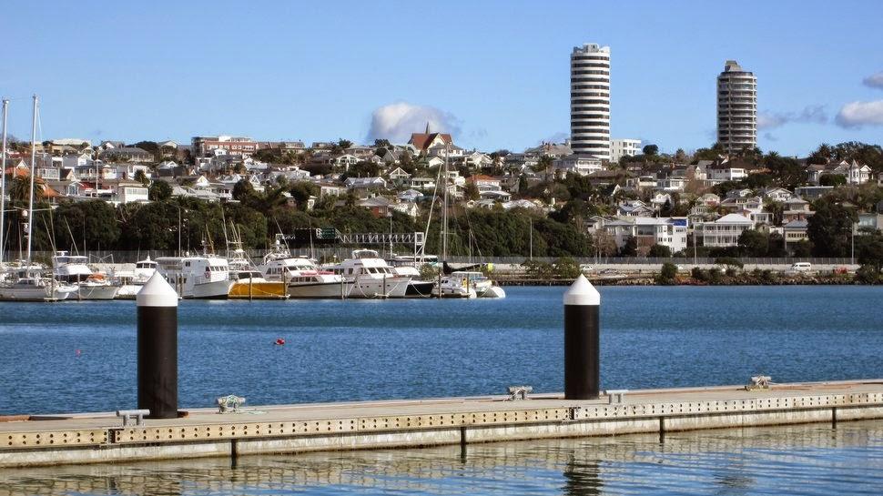 Ponsonby vu de St Marys Bay