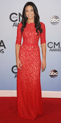Rachel Smith, CMA Awards, red carpet