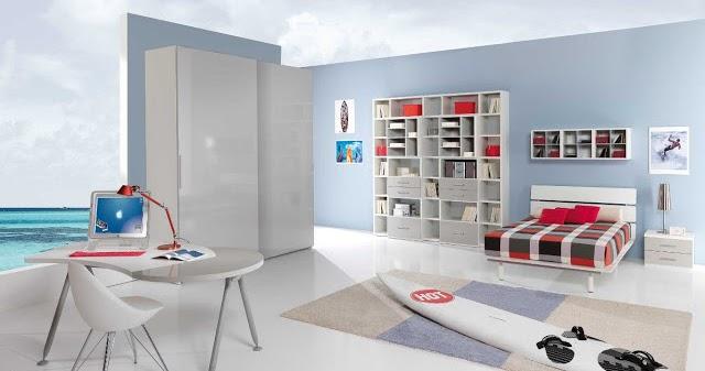 chambre sport garcon | idées déco pour maison moderne