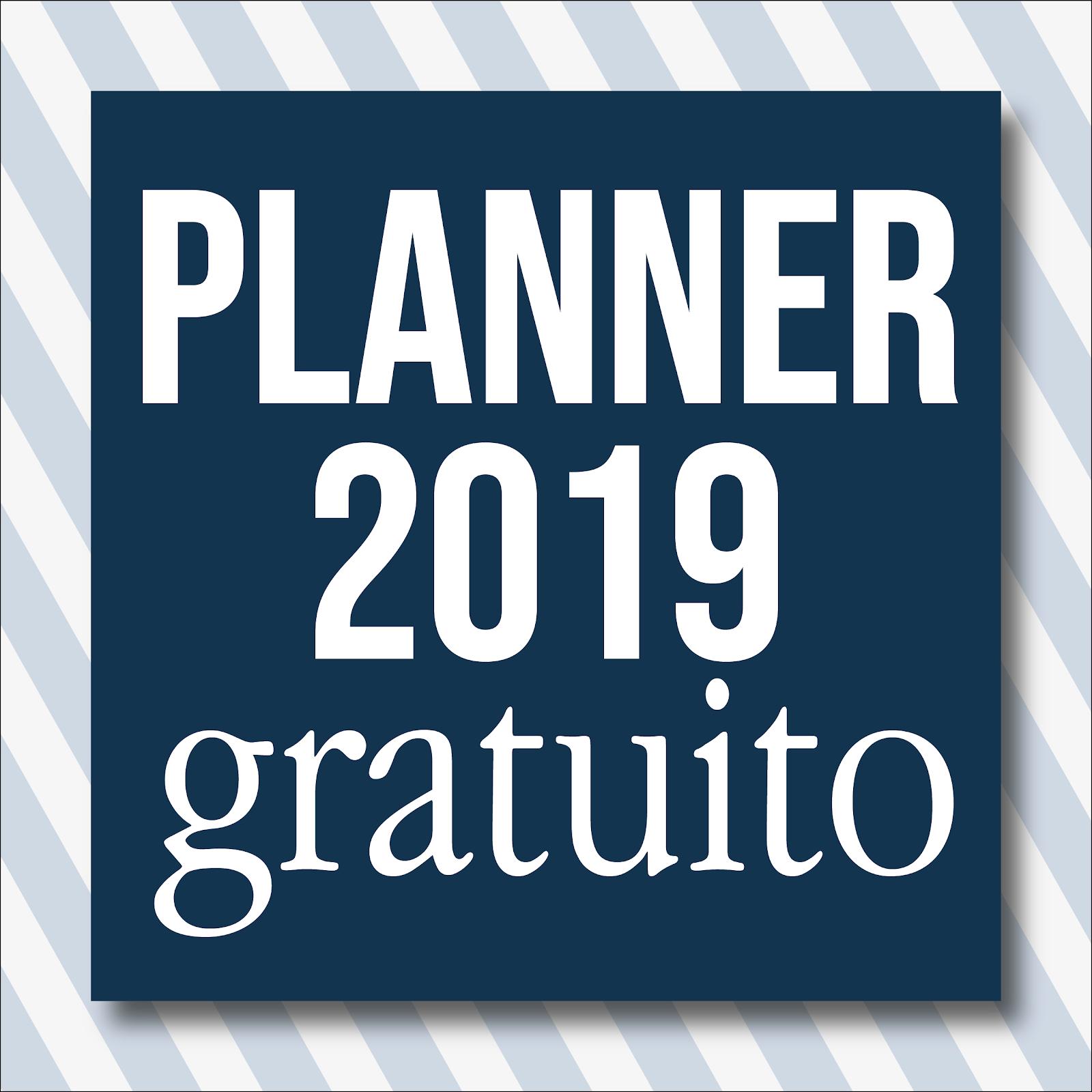 Faça seu planner