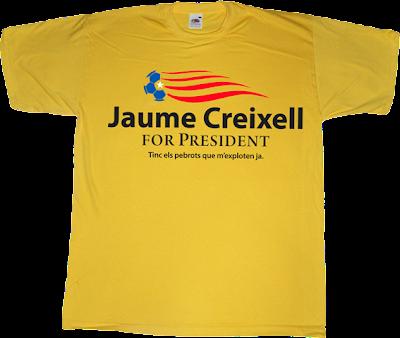 jaume creixell Alguna Pregunta Més? APM? fun catalan catalonia t-shirt ephemeral-t-shirts