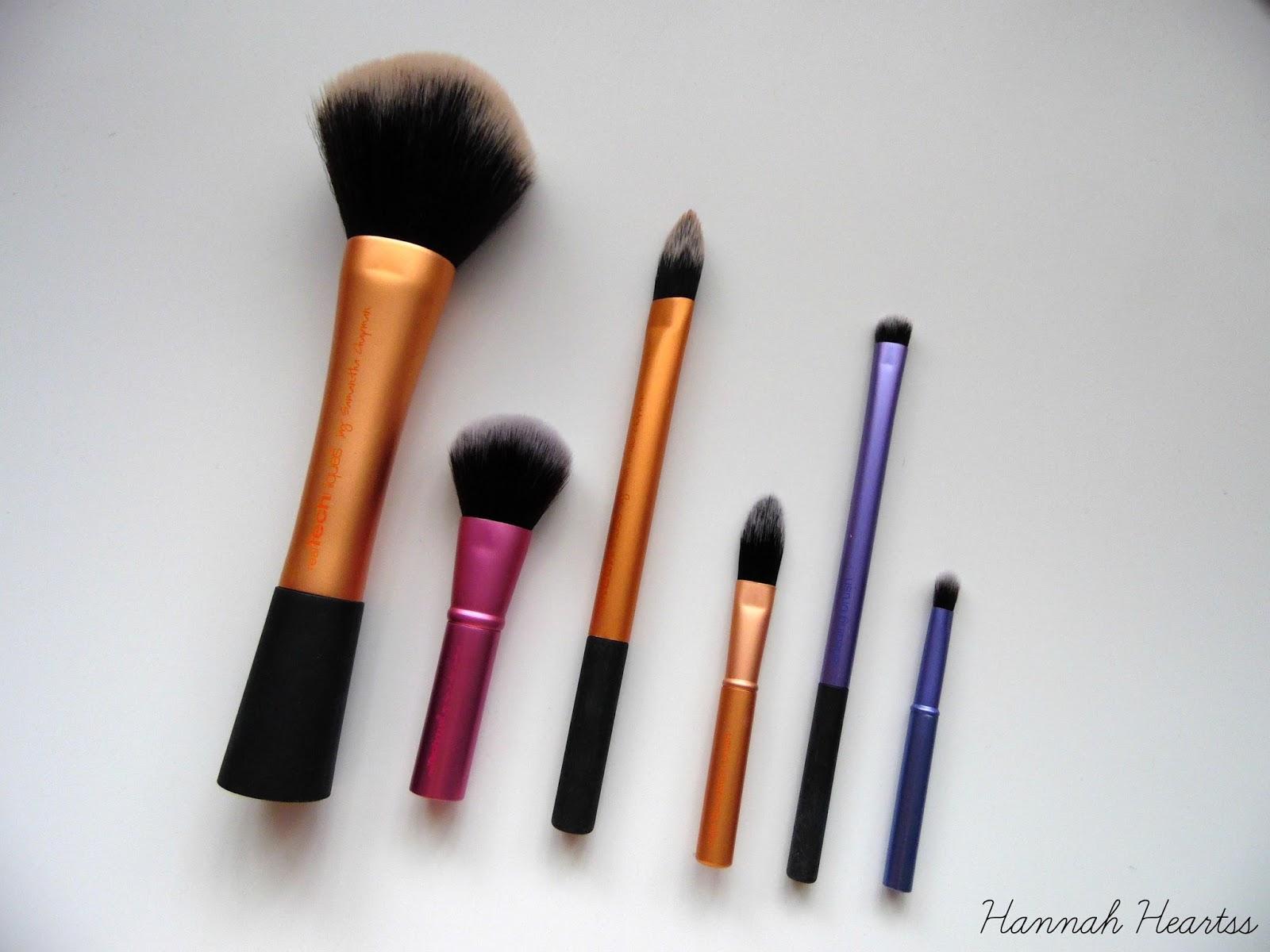 real techniques mini brush trio