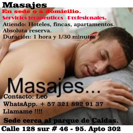 Masajes en Medellin !!!!